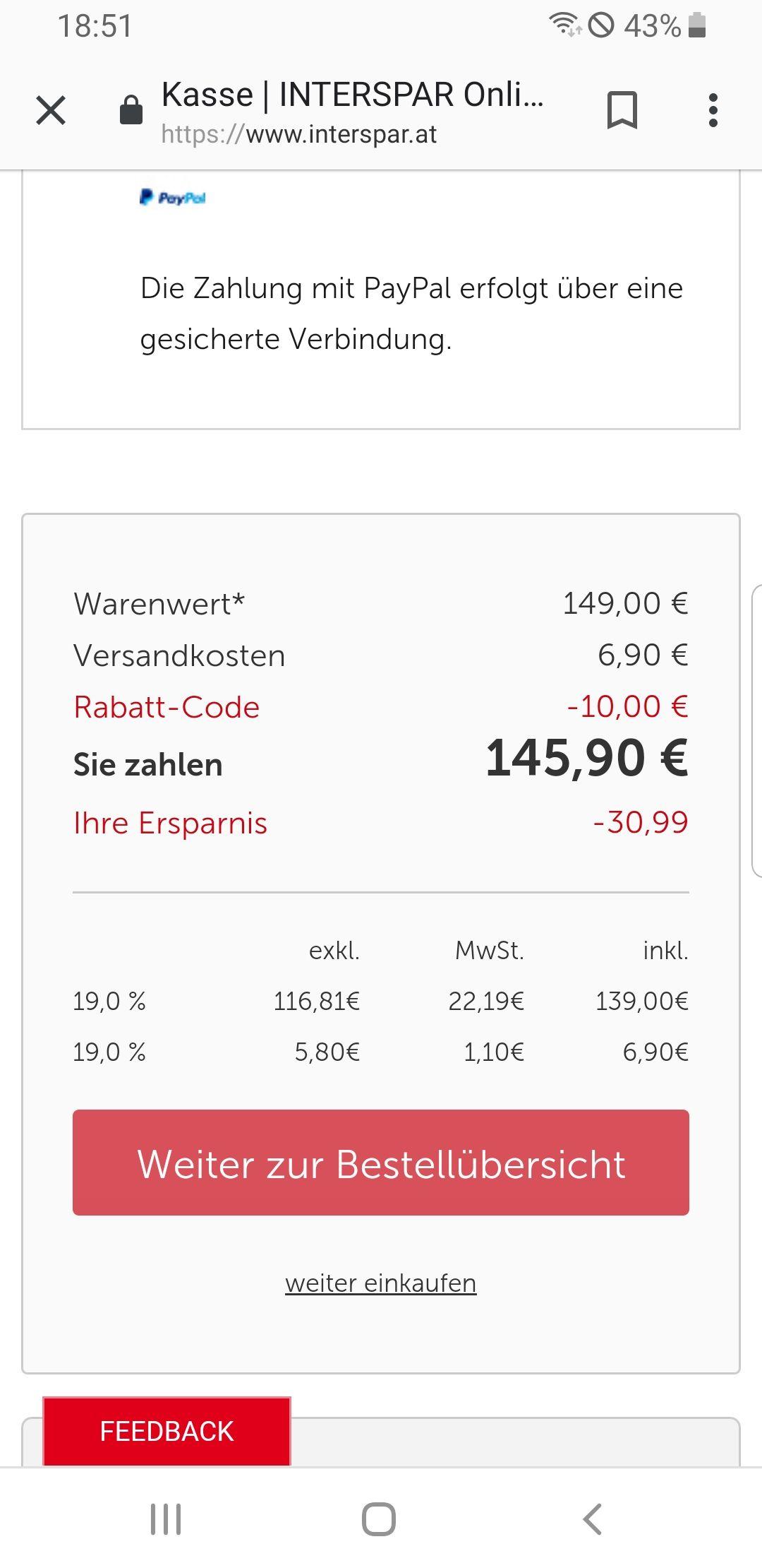 Lego Karussell 10257 mit Newslettergutschein für 145,90 €