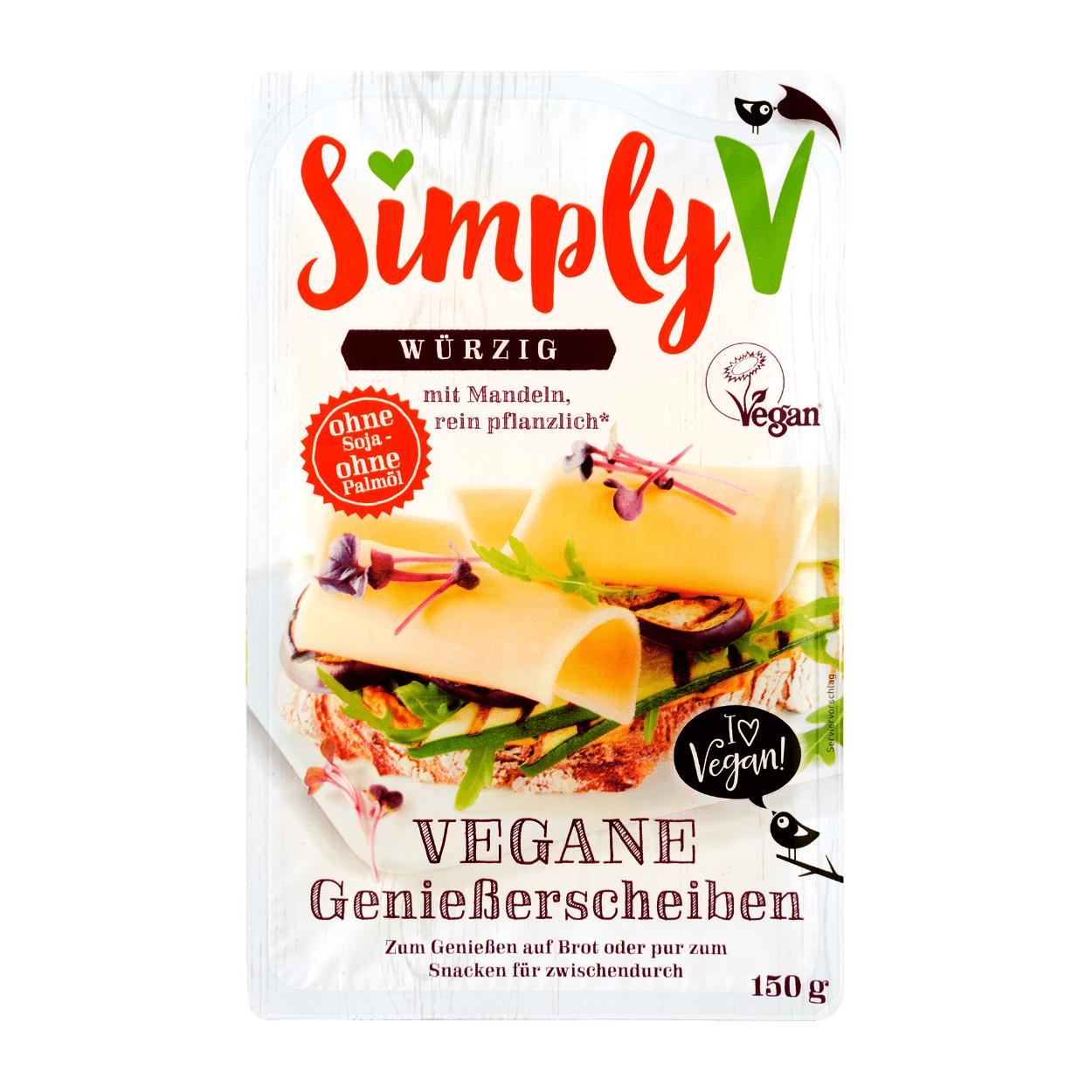 Simply V Vegane Genießerscheiben [Aldi Nord] [Rewe]