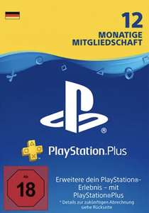 12 Monatsabo Playstation Plus bei Media Markt