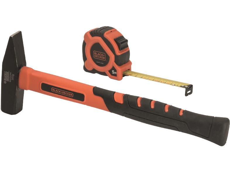 Tpss heimwerken & garten: black & decker hammer und bandmaß 8
