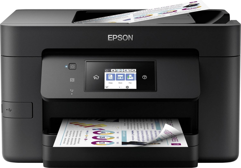 Epson WorkForce Pro WF-4720DWF (Drucker/Scanner/Kopierer/Fax, A4, 20/20S/min, 250 Blatt, ADF, Duplex, LAN, WLAN, NFC, mobiles Drucken)