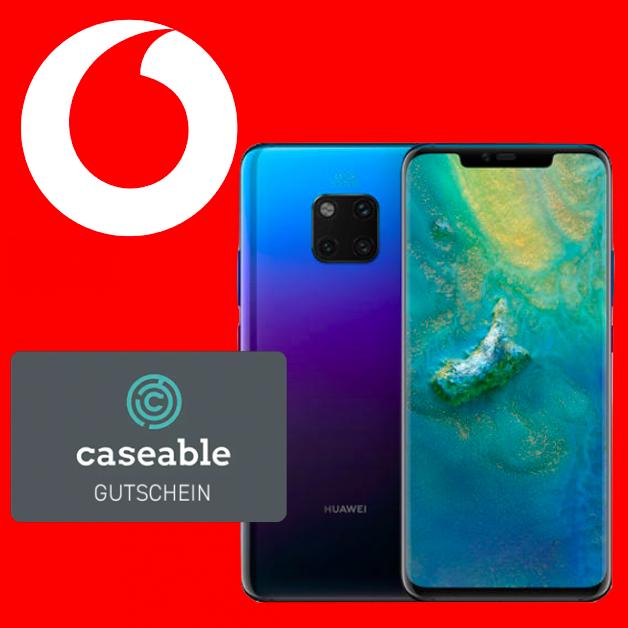 Vodafone Smart L+ (7GB LTE) od. Young (12GB LTE) mtl. 36,99€ + Huawei Mate 20 Pro (Dual-SIM) + 25€ Caseable Gutschein für 53,99€ Zuzahlung