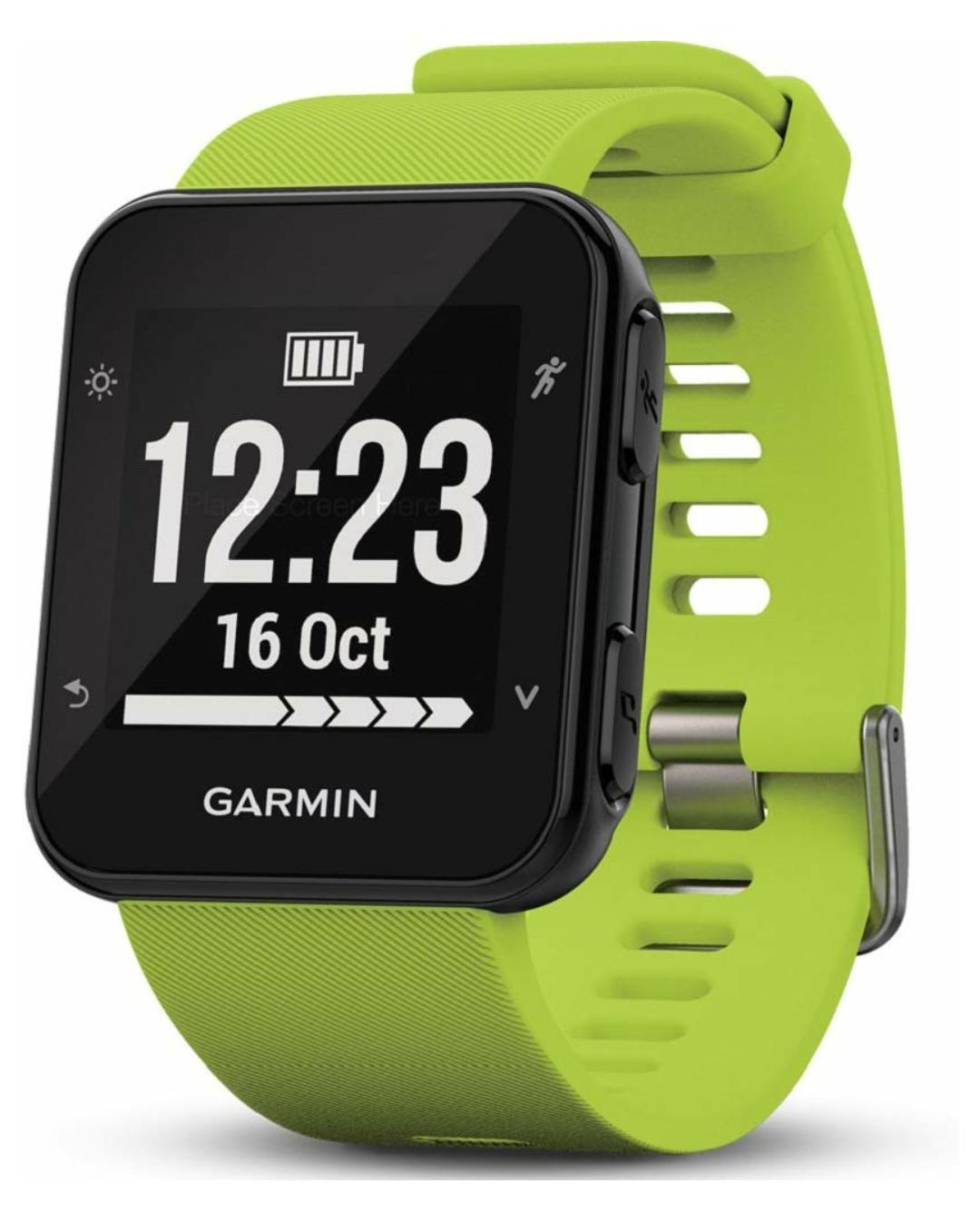 Garmin Forerunner 35 GPS-Laufuhr, Fitnesstracker, Herzfrequenzmessung, Smart Watch, in grün oder weiß