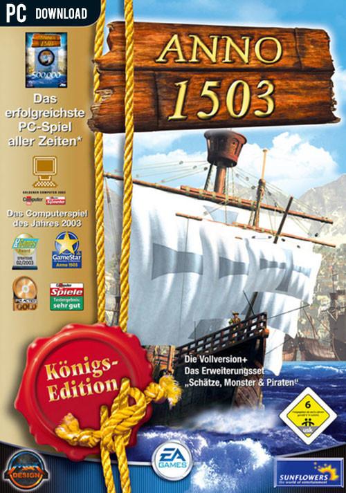 Anno 1503 - Königsedition (Uplay) für 1,25€ & weitere Anno Spiele im Angebot (Gamesplanet & Ubisoft)