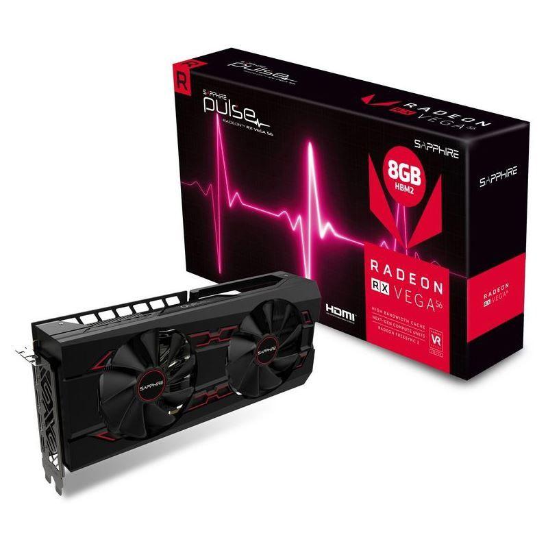 8GB Sapphire Radeon RX Vega 56 Pulse Aktiv PCIe 3.0 x16 (Mindfactory)