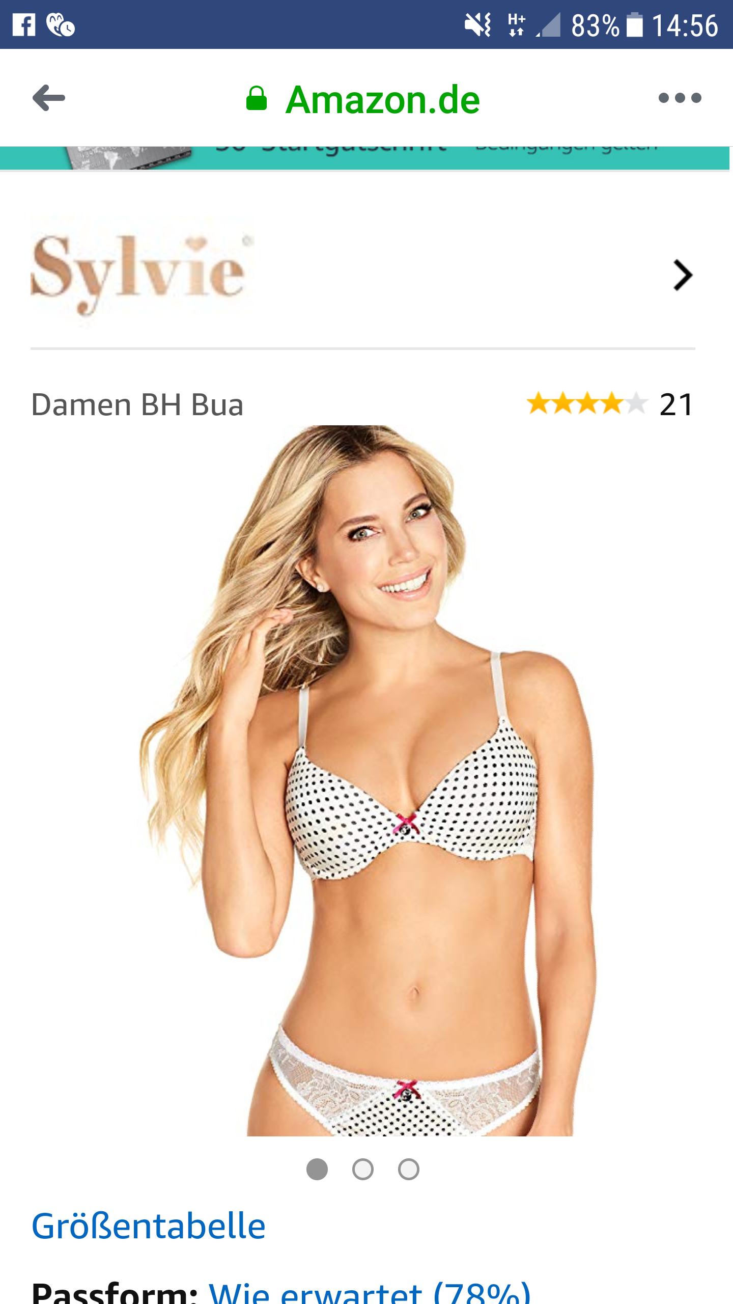 (Amazon) Damen BH ab 4,26€ (Plus Produkt)