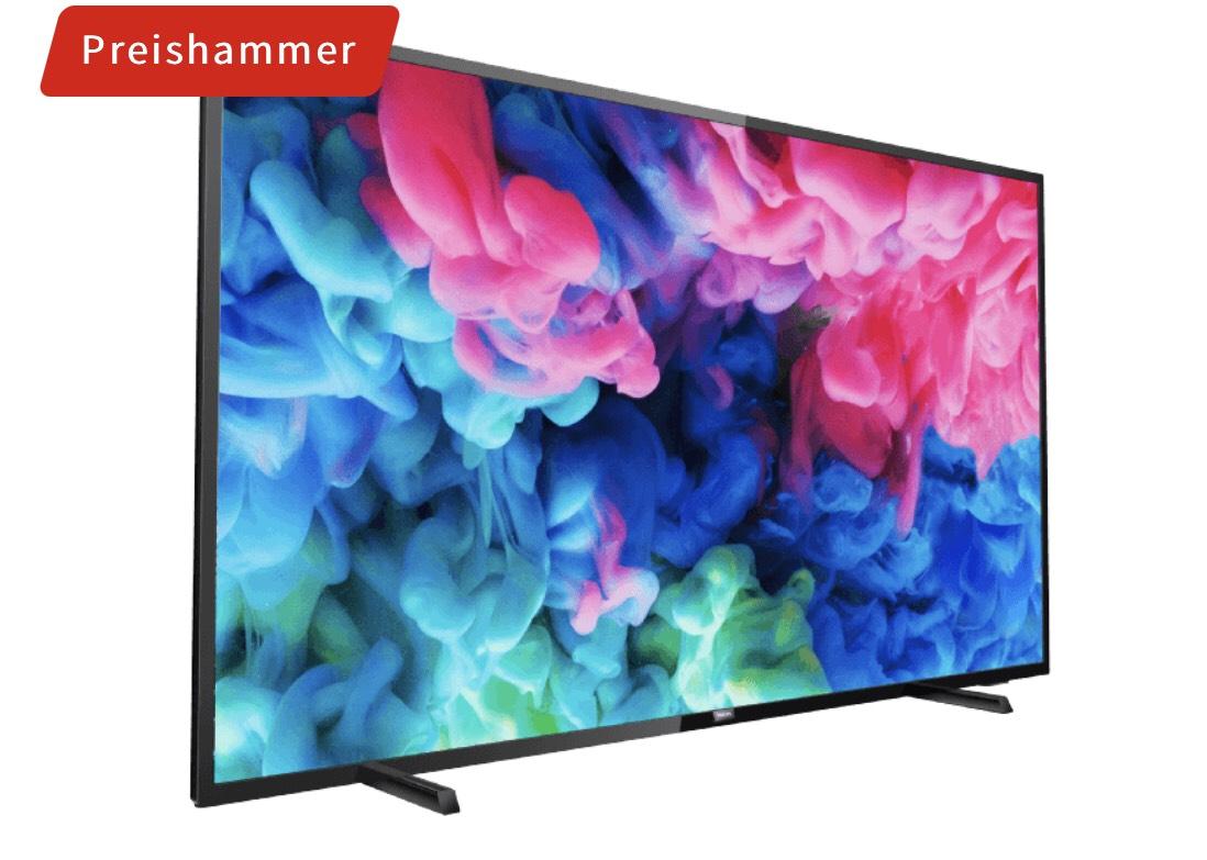 PHILIPS 65PUS6503 LED TV (Flat, 65 Zoll, UHD 4K, SMART TV, SAPHI)