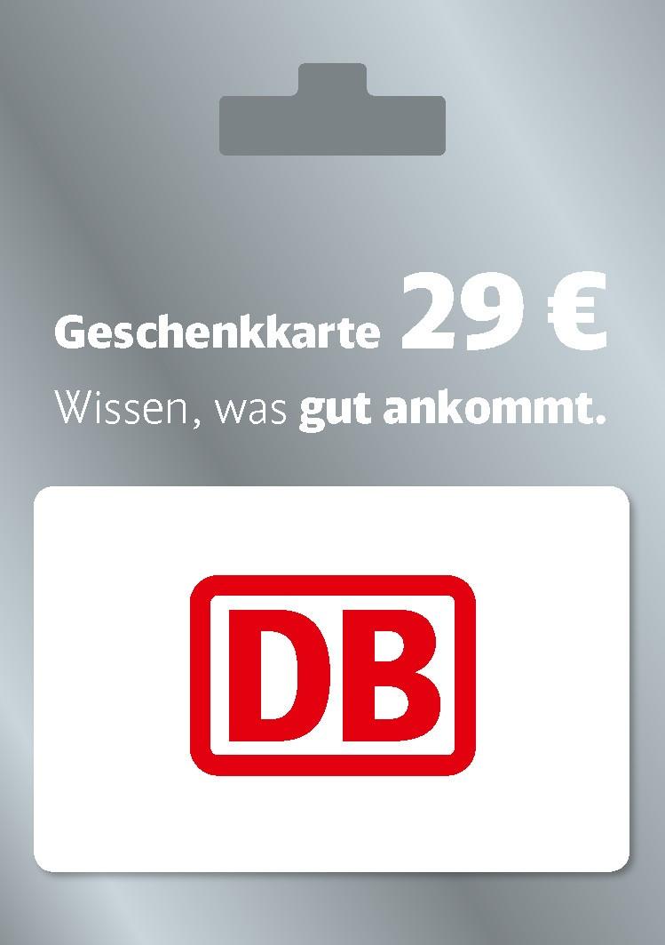 [Edeka und Marktkauf] Deutsche Bahn Geschenkkarte für 24€ statt 29€ - von 08.04 bis 14.04.2019 in allen deutschen Edeka-Supermärkten