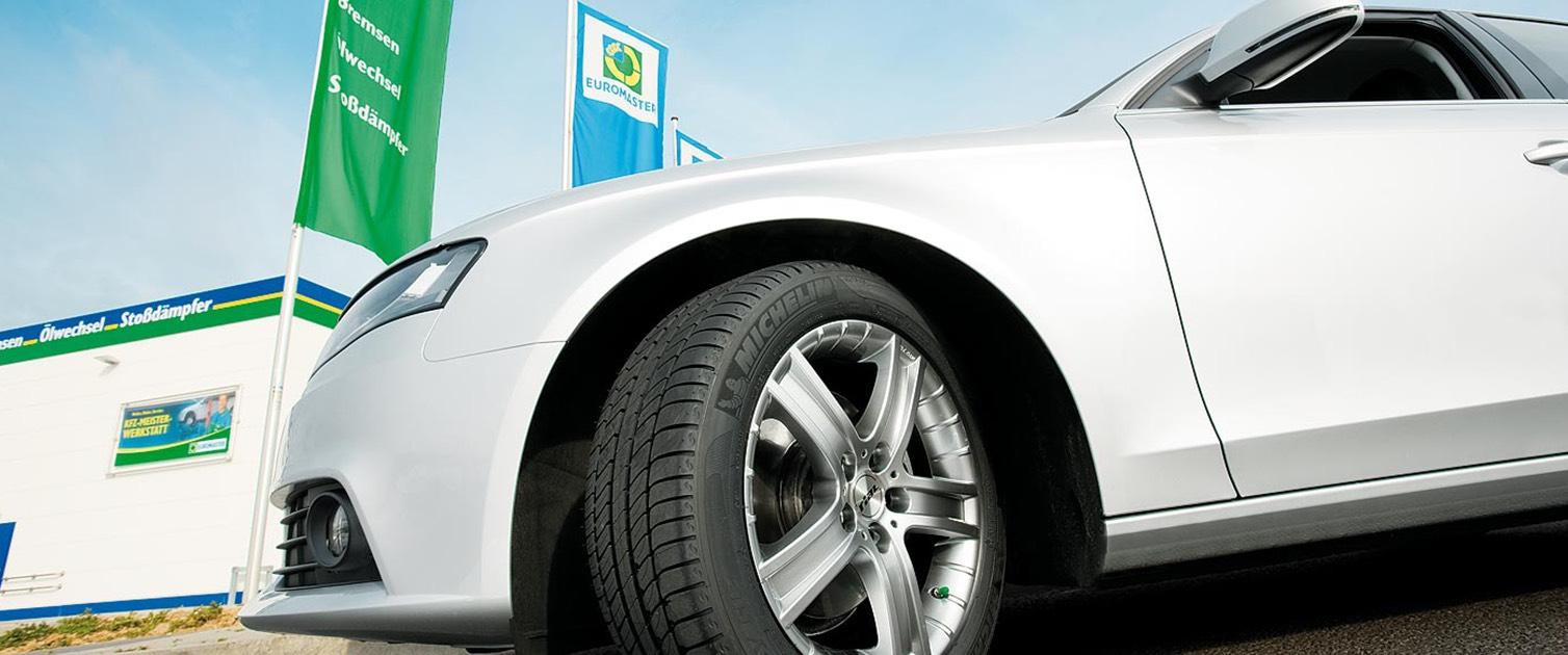 [shoop] Euromaster 13% Cashback auf Reifen + gratis Montage + 15 Euro shoop Gutschein
