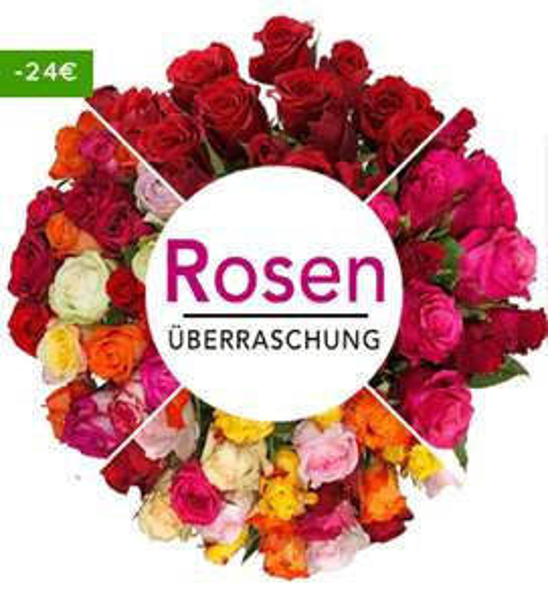 44 Rosen als Überraschung + 12% auf ALLES!