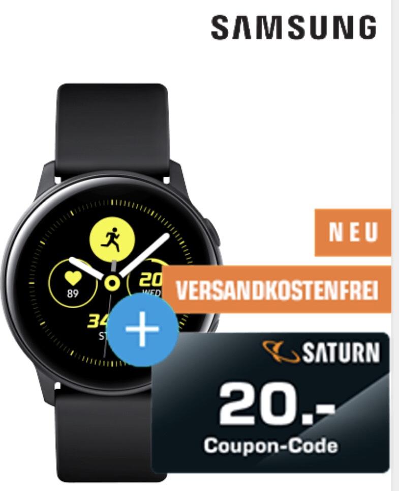 20€ Coupon Code bei MediaMarkt & Saturn beim Kauf einer Samsung Active Uhr