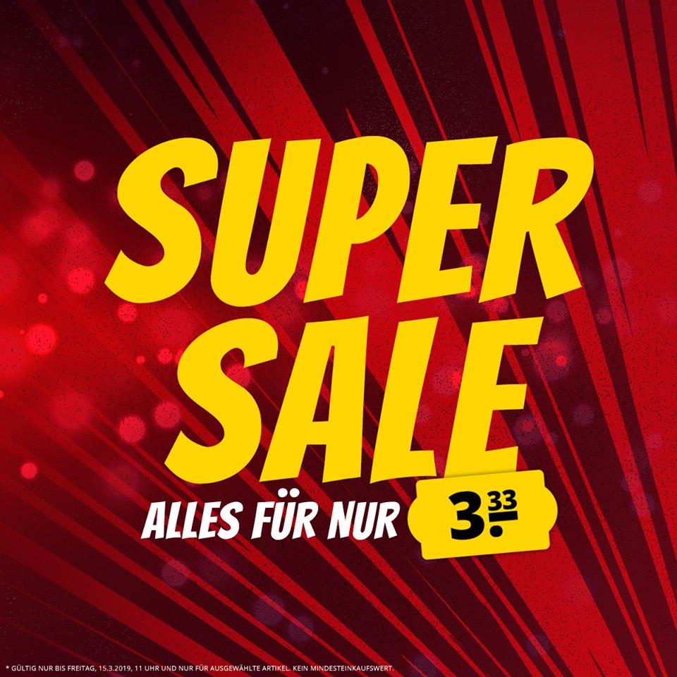 3,33€ Sale bei SportSpar - hunderte Artikel (Trikots, Schuhe, Kleidung) zzgl. Versand