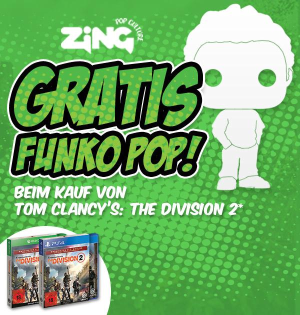 Gamestop bietet Tom Clancy's The Division 2 + Funko Pop! Figur Gratis und viele weitere coole Angebote ...