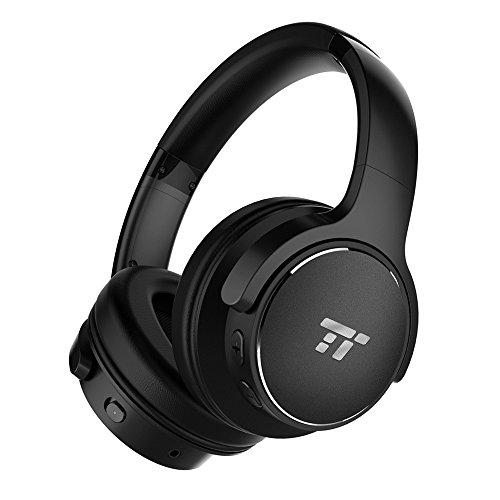 TaoTronics TT-BH040 Over-Ear Bluetoothkopfhörer mit Active Noise Cancelling (30h Akkulaufzeit, integriertes Mikrofon, 3,5mm Klinke)