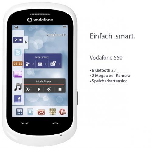 Villeroy&Boch Savoy Gläser + Vodafone 550 Prepaid Smartphone für 22,00 € @deltatecc