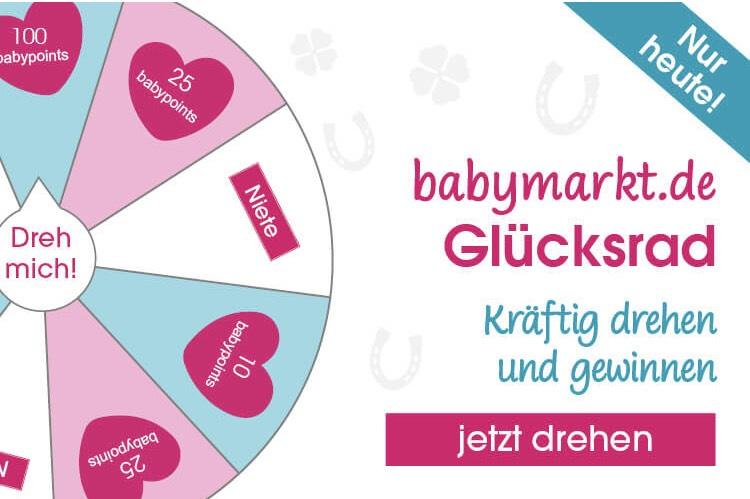 [babymarkt.de] Gratis Guthaben [Babypoints] sammeln beim Glücksrad