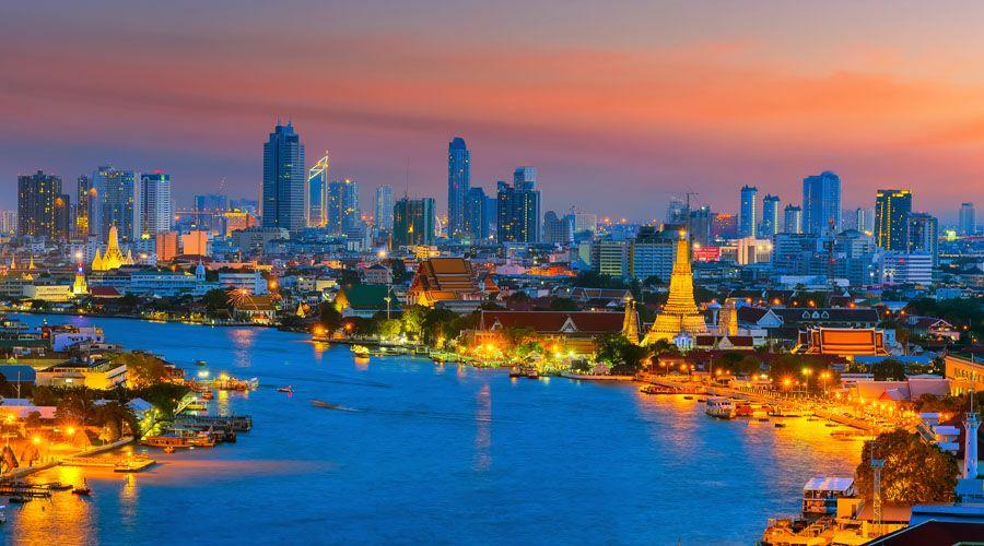 Flüge: Thailand ( März - Juni ) Hin- und Rückflug von Frankfurt nach Bangkok ab 318€ inkl. 2x23 Kg Gepäck