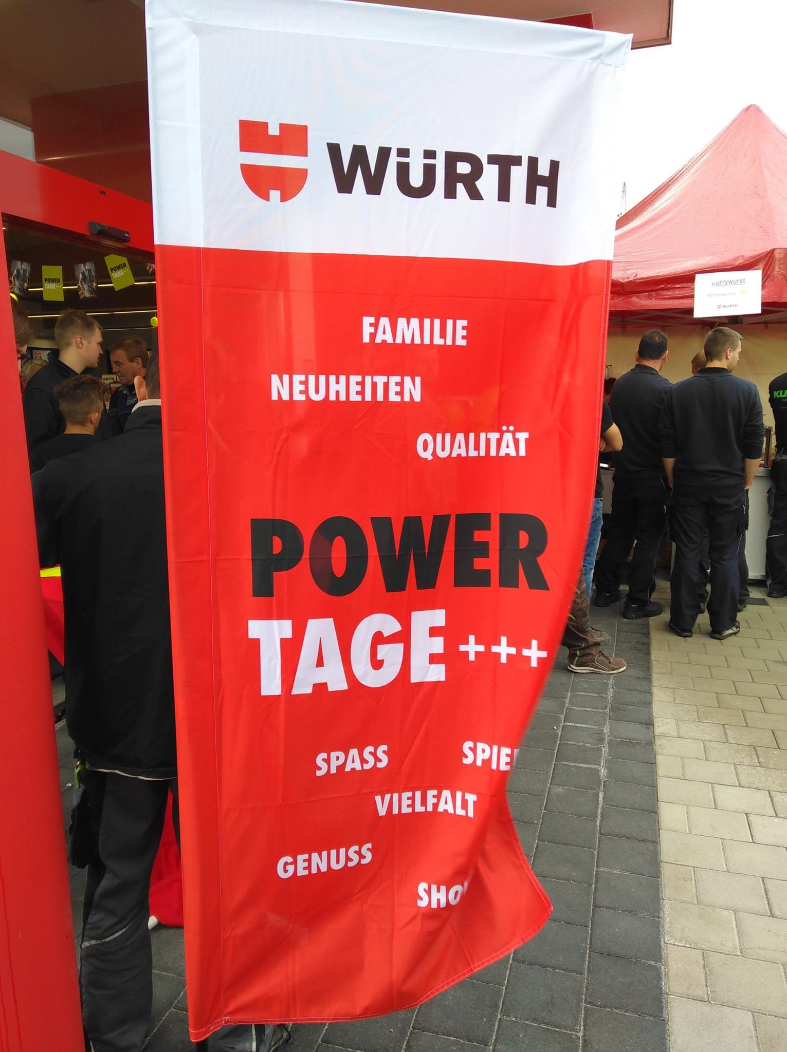 [Gewerbe] Würth Powertage 2019