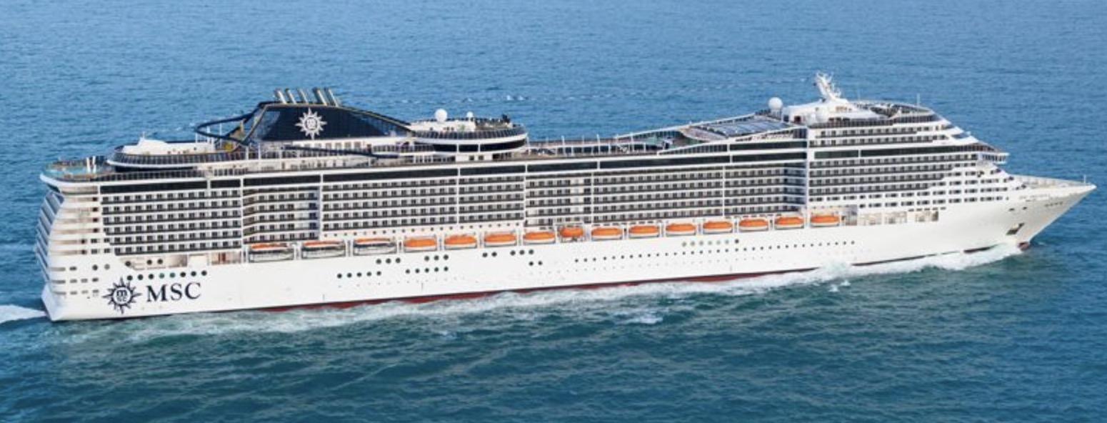 MSC Divina 6 Tage Mittelmeer Kreuzfahrt zu Zweit schon ab 574€
