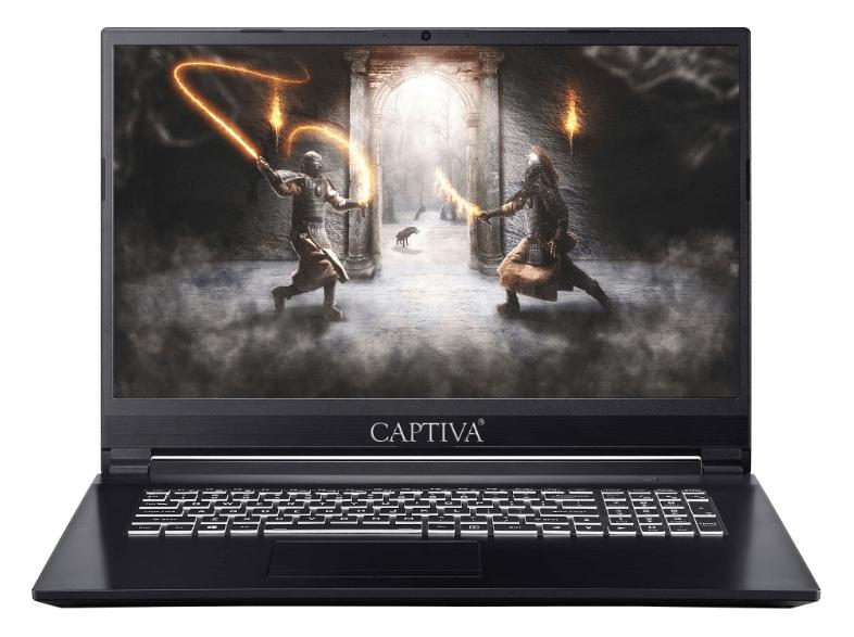 """50€ Rabatt auf Captiva Laptops / PCs - zB I48-320 17,3"""" FHD 144Hz, i7-8750H, RTX 2060 6GB, 16GB RAM, 256GB SSD, 1TB HDD, Win10 [Saturn Card]"""