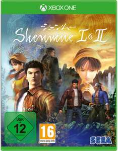 Shenmue I & II (Xbox One & PS4) für je 16,99€ (Saturn-Card)