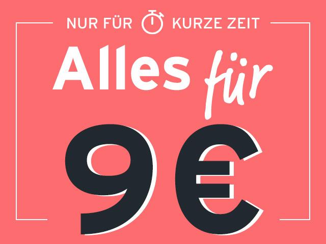 Alles für 9 Euro oder 19 Euro bei Tchibo.de und Eduscho.at / Schnäppchen / Angebote / Preisalarm