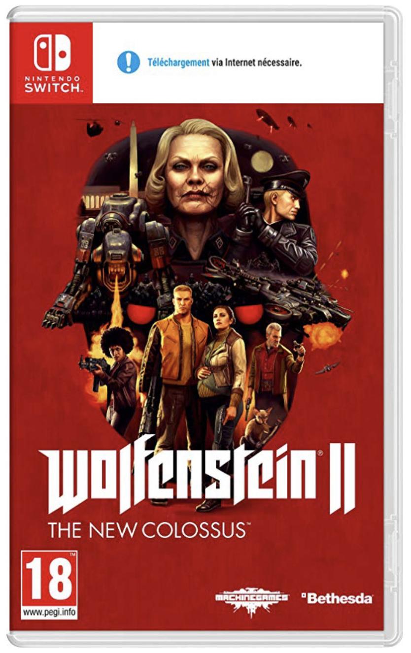 Wolfenstein II The New Colossus Nintendo Switch für 38,40€ inkl. Versandkosten