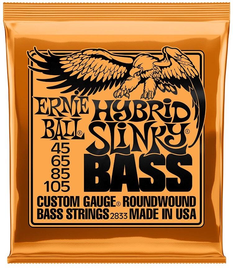 Nischendeal: Ernie Ball Bass-Saiten Slinky 045-105