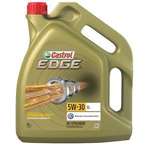 Castrol 15669E EDGE Motoröl, Titanium, FST 5W-30 LL, 5L [eBay]