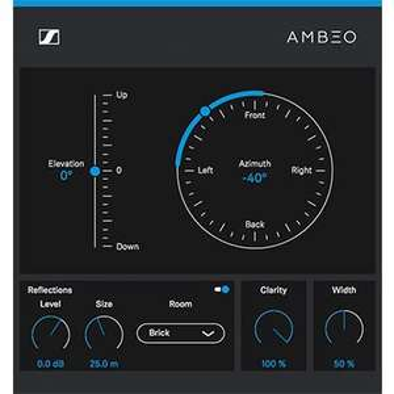 Kostenloses binaurales VST Panner-Plugin AMBEO Orbit von Sennheiser