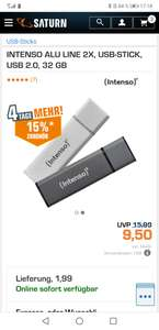Intenso USB stick 2x 32GB