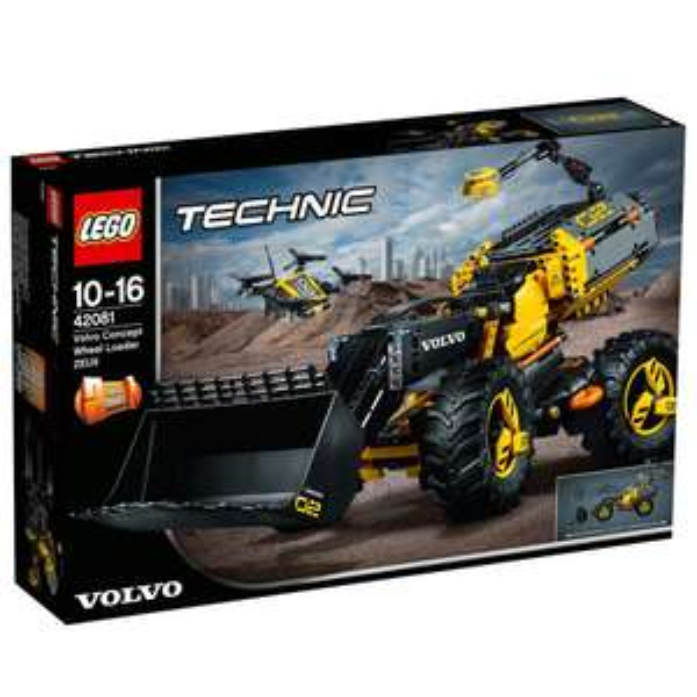 20% auf alle Spielwaren z. B. LEGO Technic Volvo Konzept Radlader ZEUX 42081 für 64,82€ [interspar.at]