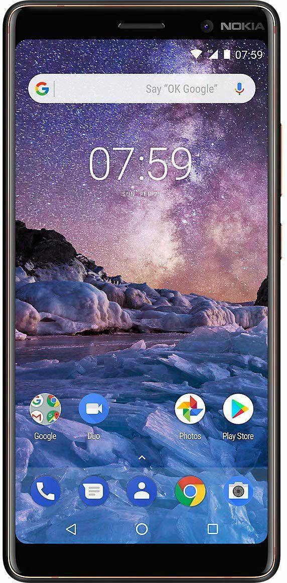 """Nokia 7 Plus Smartphone 6"""" - FHD+, Snapdragon 660, 4GB, 64GB, Dual-SIM, schwarz (iBOOD)"""