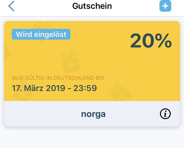 ( Hamburg ) 20% myTaxi Gutschein
