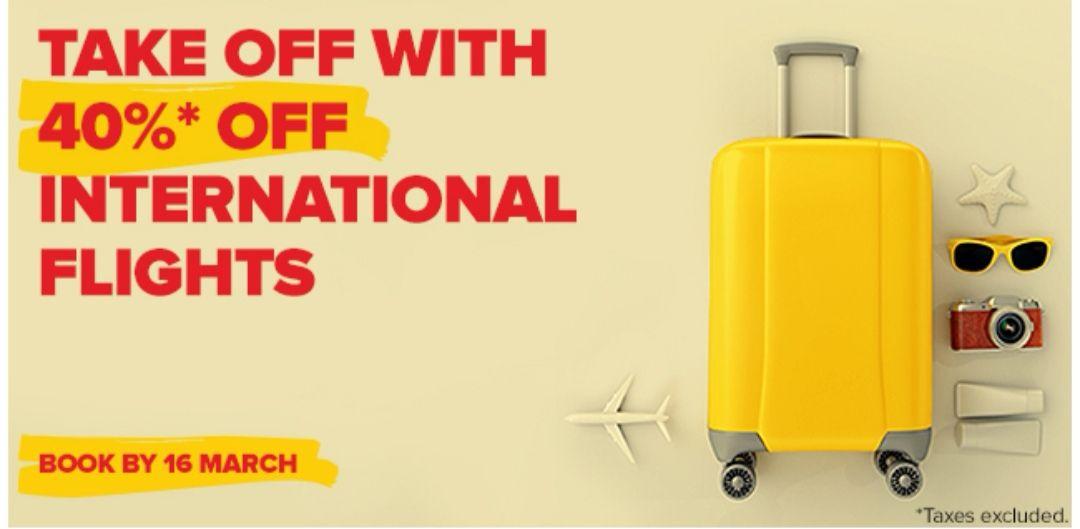 40% auf internationale Flüge mit Pegasus Airlines