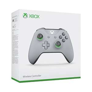 Xbox One S Wireless Controller (Grey and Green Special Edition) + Gears of War 4 (Xbox One/PC Code) für 44,42€ (Amazon FR)