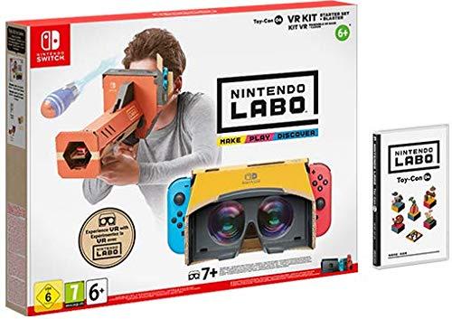 Nintendo Labo: VR-Set Basispaket + Blaster (Switch) für 33,99€ (Saturn-Card)