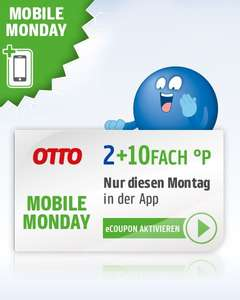 [Mobile Monday] 12-fach Payback Punkte bei OTTO am 18.03.