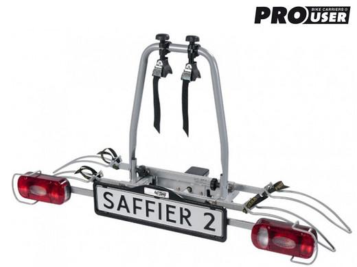 pro user saffier ii fahrradtr ger f r zwei fahrr der. Black Bedroom Furniture Sets. Home Design Ideas