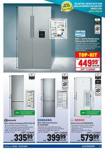 [Metro] beko Kühl-/ Gefrierkombination Side by Side GN 163822S