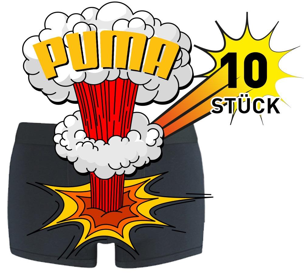 Puma Boxershorts in einer 10er Überraschungs-Box für Herren Gr. S - XXL (auch 10er Levis in der Überraschung-Box für 44,99€)