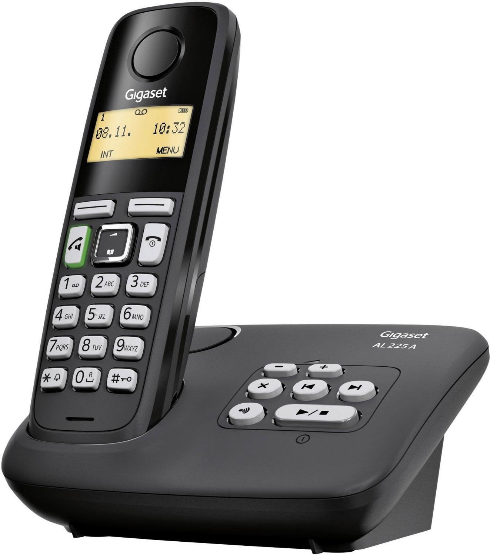 Tiefpreisspätschicht mit Gigaset DECT-Telefonen - z.B. Gigaset AL225 A in schwarz, Gigaset A 540 Duo für 39€,Gigaset AS 405 Trio für 45€