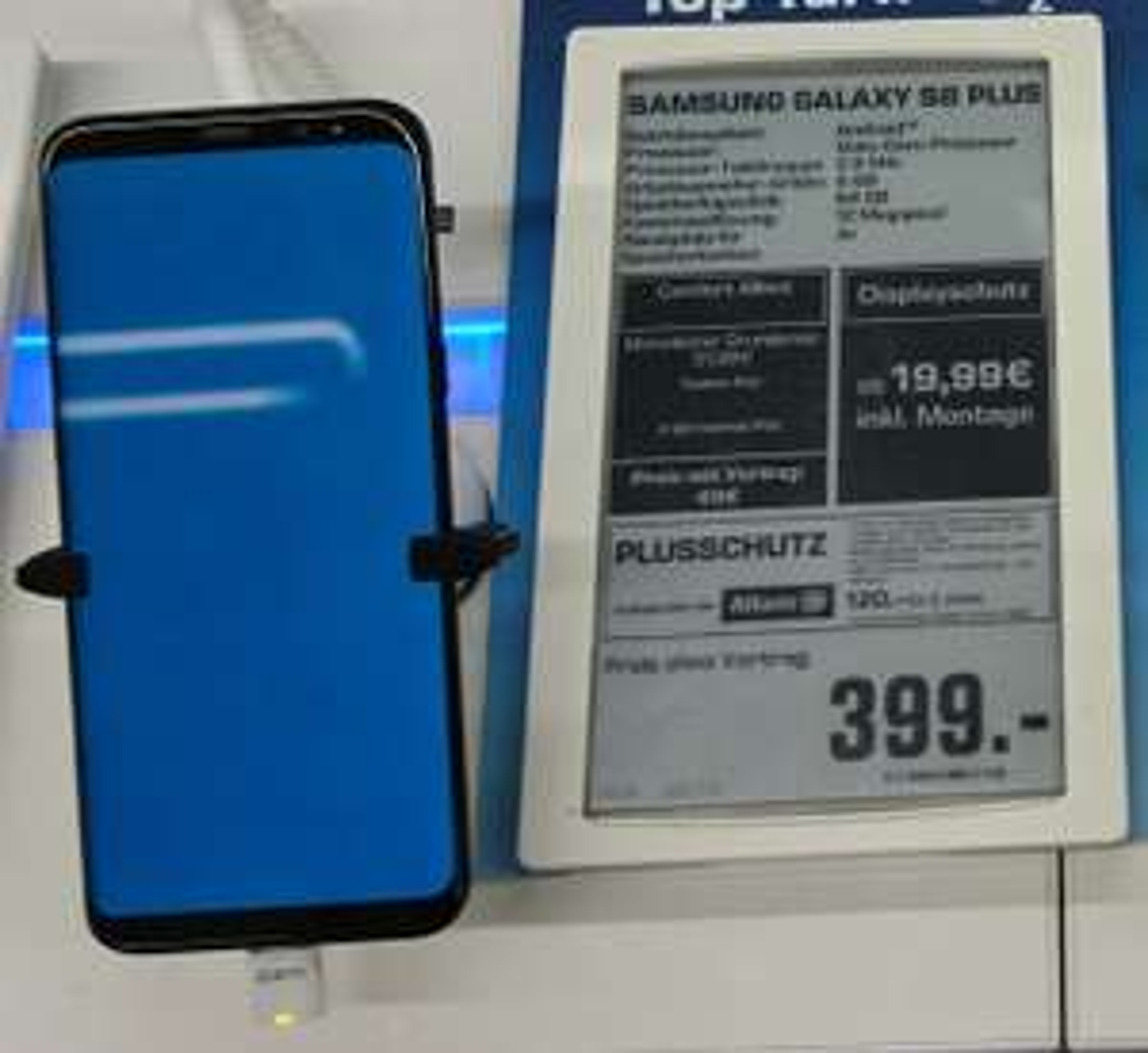 [Lokal Berlin] Samsung Galaxy S8 Plus 64GB (Saturn Europacenter mit Saturn Card)