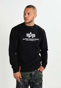 Alpha Industries BASIC SWEATER - Sweatshirt (S-3XL)