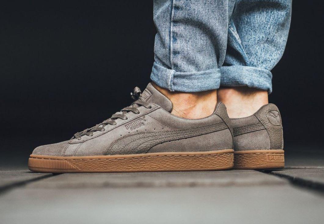 Puma Suede Classic Natural Leder Sneaker