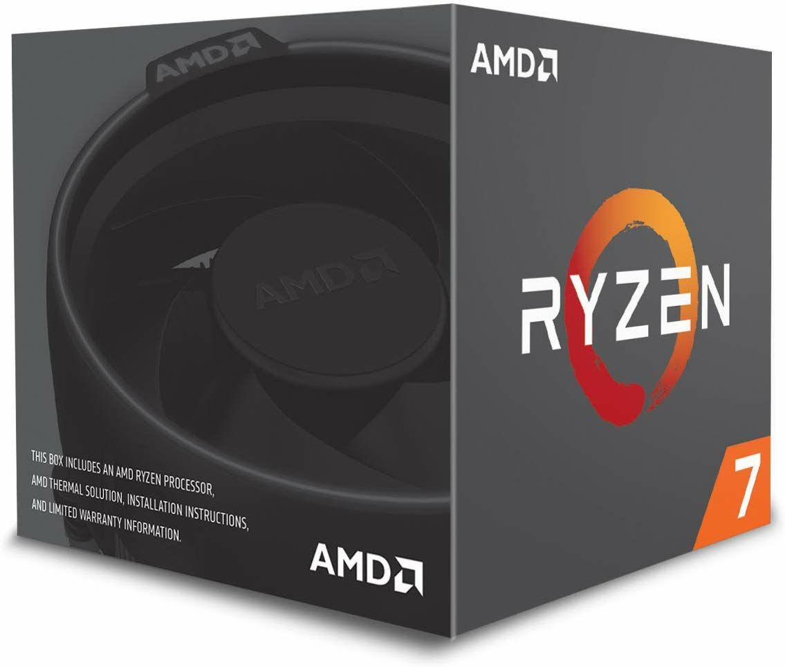 AMD Ryzen 7 2700 Prozessor (Boxed) - 8 Kern, 3.2GHz mit Wraith Spire Kühler (Amazon UK)