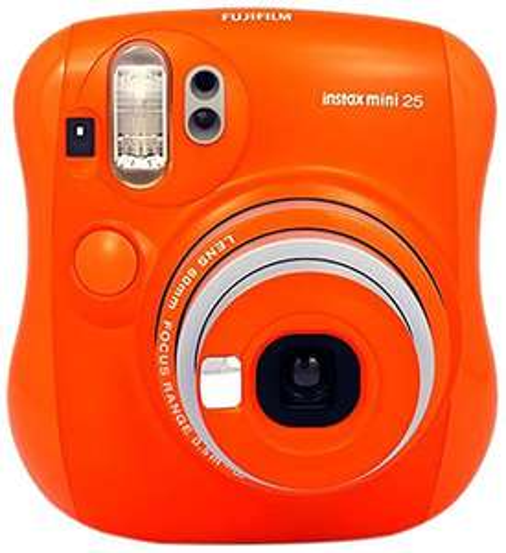 Fujifilm Instax Mini 25 orange | Sofortbildkamera