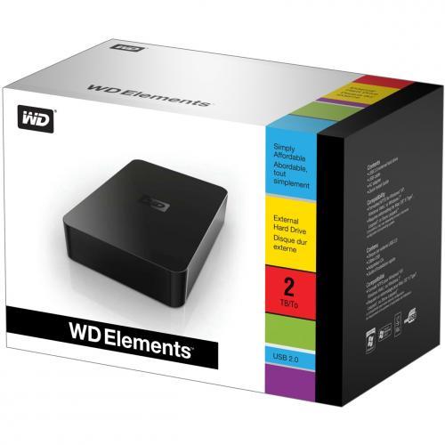 """[Lokal CH] Western Digital Elements Desktop, 3.5"""", 2TB, USB2.0"""