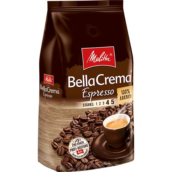 [ EDEKA ] 2 Packungen Melitta Bella Crema Espresso 1kg Bohnen für 13,76€ (6,88€/Packung - Angebot+Coupon)