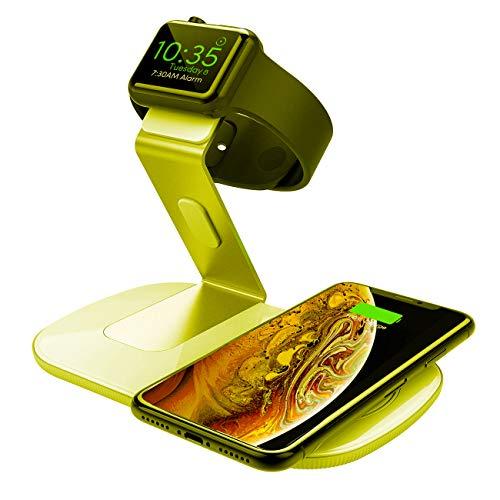 Seneo 2 in 1 Fast Wireless Charger für Apple, Samsung und Co. [Amazon Prime]